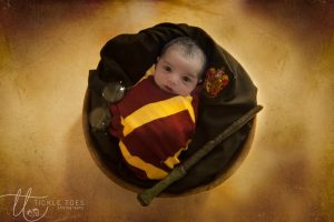 Harry Potter baby Newborn baby photography Dublin Meath Kildare Wicklow