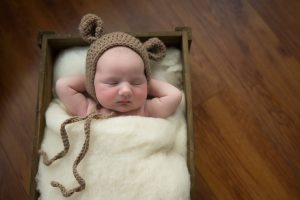 Little teddy bear Newborn baby photography Dublin Meath Kildare Wicklow