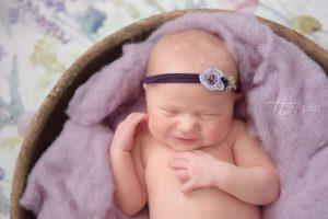 Smiling Baby Newborn baby photography Dublin Meath Kildare Wicklow