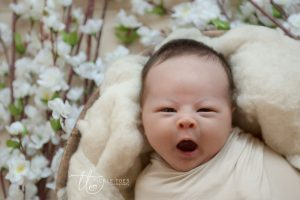 Yawning baby Newborn baby photography Dublin Meath Kildare Wicklow