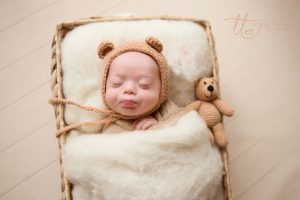 Blowing kisses Newborn baby photography Dublin Meath Kildare Wicklow