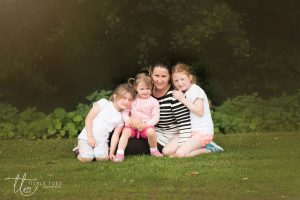 Mum with three daughters Tickle Toes Photography Family photography north south dublin